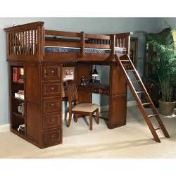 American spirit jr twin loft bed at hayneedle