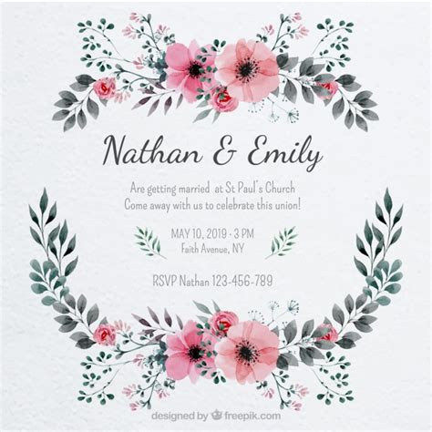 template undangan pernikahan gratis psd wedding vectors photos and psd files free download