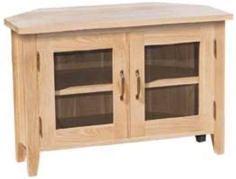 Corner Tv Cabinet With Doors by New Court Oak Corner Tv Cabinet 2 Doors Oak Furniture
