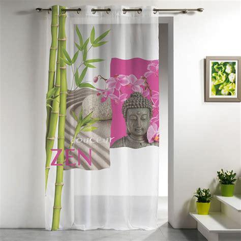 Rideau Zen by Voilage 140x240cm Douceur Zen