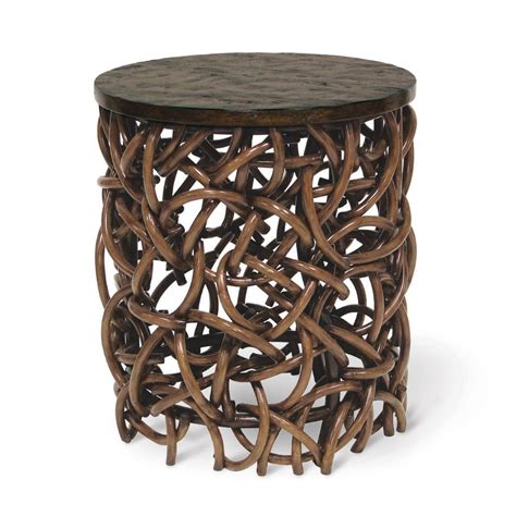 rattan accent table rattan accent table timeless classics rattan accent