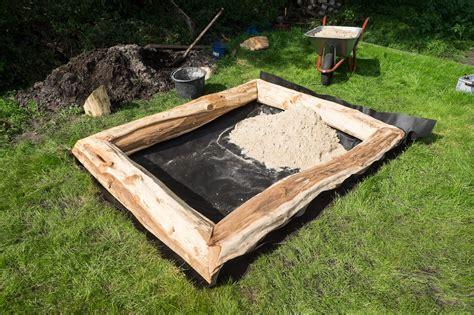 sandkasten haus sandkasten teil 2 ein haus f 252 r den zwerg