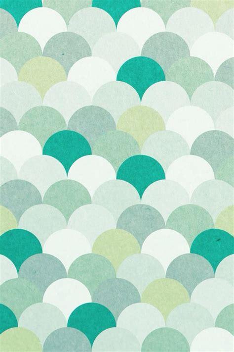 pretty blue colors blue circles green mint pattern pretty scallop