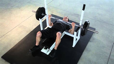 incline bench press without bench how to do bench press without spotter benches