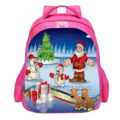 Santa Claus Backpack santa claus school bag backpack giftcartoon
