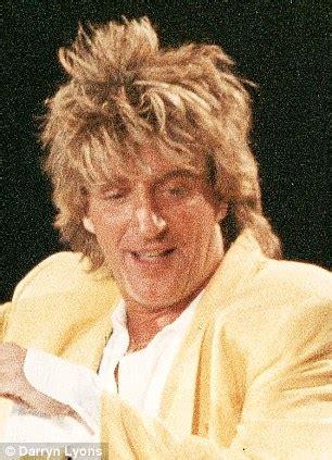 british singer orange hair male rihanna blonde hair singer shows off rod stewart inspired