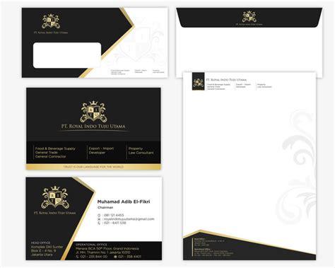 kartu nama desain hitam putih sribu jasa desain kartu nama kop surat profesional murah