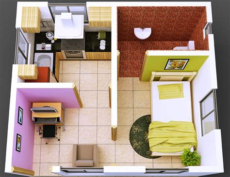 tata ruang desain rumah kost sederhana info bisnis properti foto gambar wallpaper