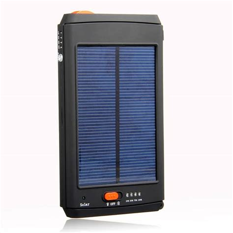 Power Bank Solar Lazada buy 11200mah solar power bank panel charger for laptop