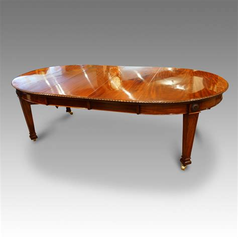 Antique Dining Table Uk Edwardian Mahogany 10 Seat Extending Dining Table Now Sold Hingstons Antiques Dealers