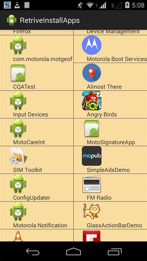layoutinflater source android beginning bunch how to get all installed