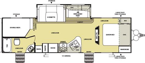 salem rv floor plans salem hemisphere floorplans starr s trailer sales