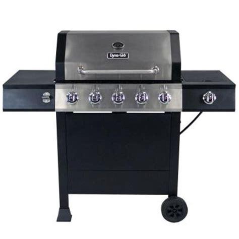 dyna glo 5 burner open cart lp gas grill dgf510sbp d the