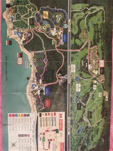 akumal resort hotel map map of all 4 resorts picture of luxury bahia principe