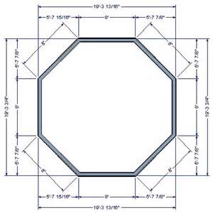 Home Designer Pro Wall Length Drawing An Octagonal Structure