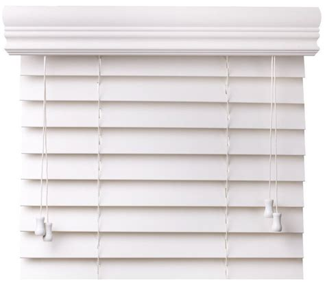 White Blinds 2 Quot Faux Wood Blinds Our Top Selling White Faux Wood Blind