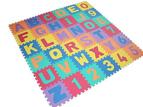 Large Foam Play Mat by Large Size Foam Alphabet Children Soft Jigsaw Puzzle Play