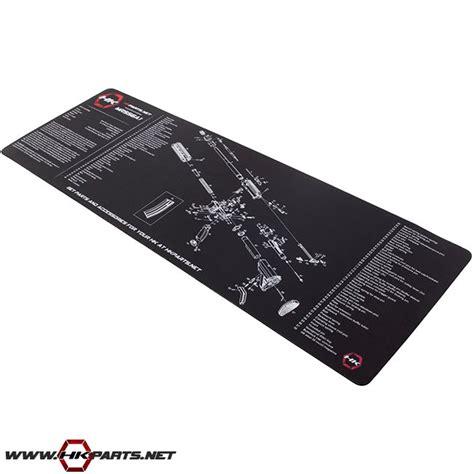 gunsmith bench mat hk ump hk usc gun mat