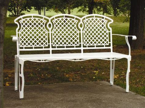 site furnishings benches rclf site furnishings 3 seat weaveback bench