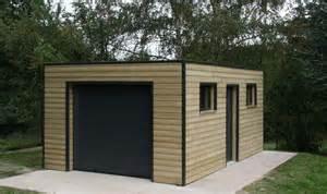 garage bois toit une pente les 25 meilleures id 233 es de la cat 233 gorie garage toit plat