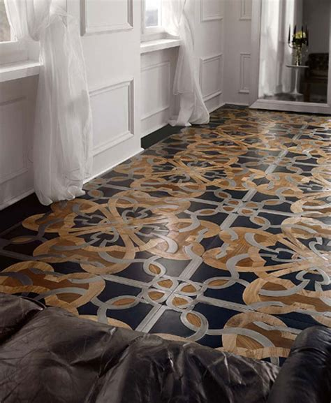 stylish mosaic flooring with a traditional royal touch