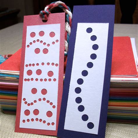 Paper Bookmarks To Make - make punched bookmarks from recycled paper friday