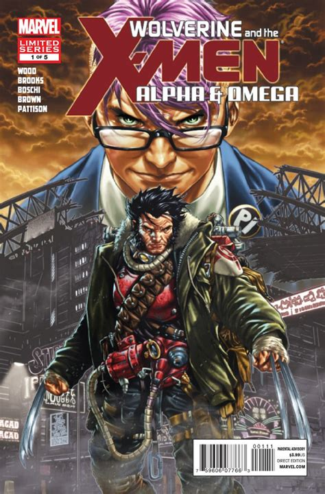 omega advent omega cycle volume 1 books wolverine and the alpha and omega 1 of 5