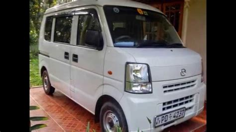New Suzuki Vans For Sale Suzuki Every For Sale Sri Lanka Www Adsking Lk
