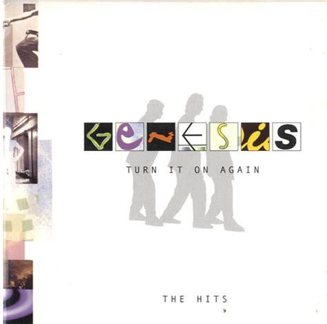 turn it on again genesis genesis turn it on again the hits sler uk promo cd