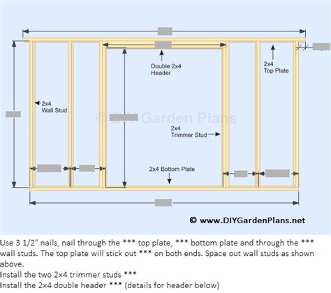 How To Build Shed Walls by How To Build The Gambrel Shed Back Wall Front Wall