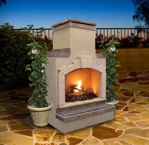 Cal Outdoor Fireplace by Cal Cal