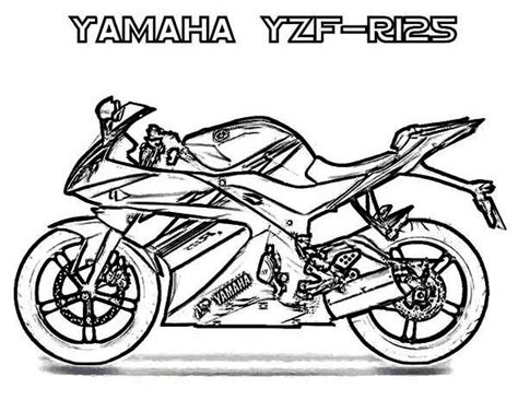 cartoon motorcycle coloring pages drawn motorcycle coloring pencil and in color drawn