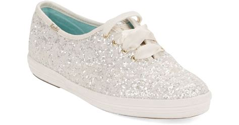 kate spade wedding lace up sneakers in white lyst