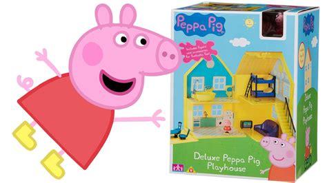 la casa di peppa peppa pig italiano apriamo la grande casa di peppa pig