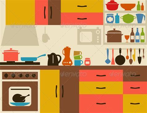 kitchen cartoon kitchen room clipart home design jobs clipartix