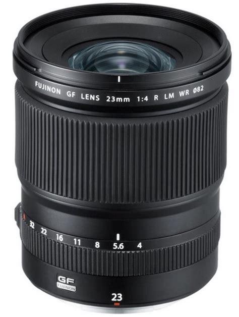 Lensa Fujifilm Gf 23mm F4 R Lm Wr Fujinon Lens Gf 23mm F 4 R Lm Wr fujifilm gf 23mm f4 gf 45 mm f2 8 gf 110mm f2 lenses to be announced on april 19th lens rumors