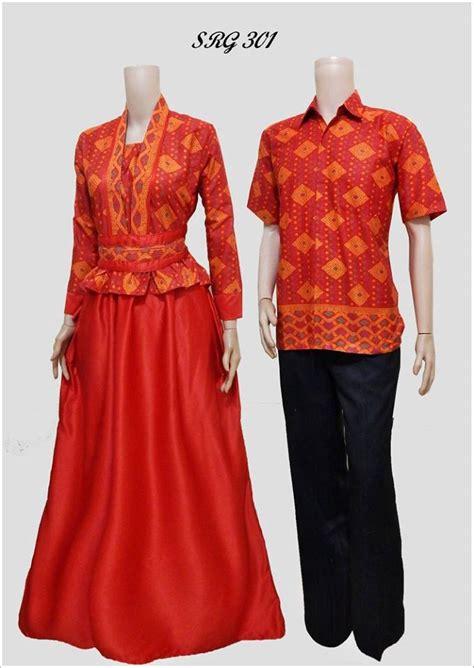 Baju Batik Gamis Pasangan jual batik sarimbit gamis baju pasangan pesta