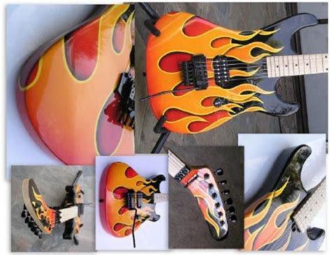 spray paint guitar 31 custom painted violins guitars and cellos