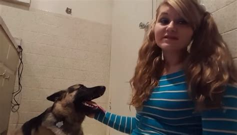 celebrity video clip 18 girl having se x with dog shares her experience