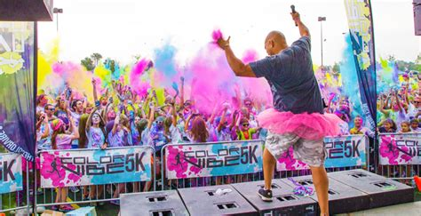 philadelphia color run color vibe 5k run flint