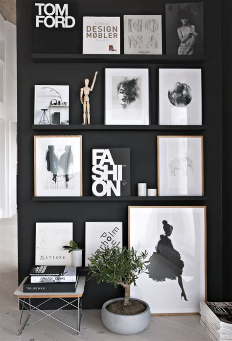 black wall designs 13 ways to achieve a scandinavian interior style
