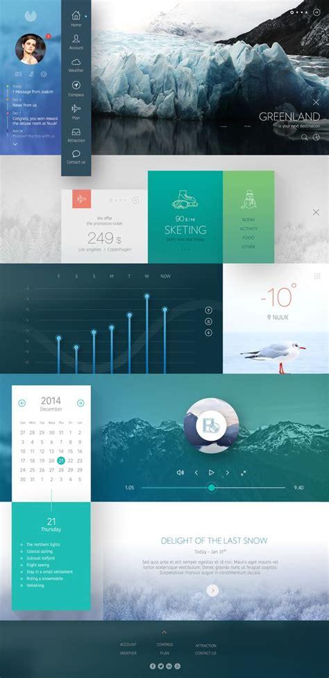 design inspiration gradient ui ux gradient design 2014 2015 web design inspiration
