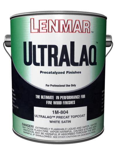 lenmar ultralaq pre catalyzed topcoat mx