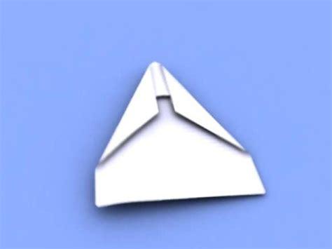 Paper Folding Animation - 3d animation paper aeroplane folding itself