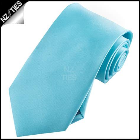 mens turquoise aqua blue necktie nz ties