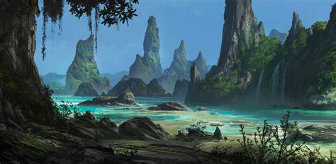Digital painting concept landscapes jonas de ro skillshare