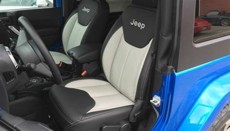 jeep wrangler leather seats leather interior for a montreal jeep wrangler owner
