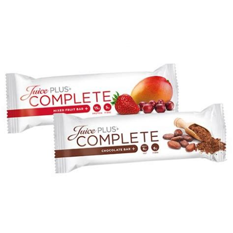 Complete Bar Juice Plus Ireland Uk Healthy Lifestyle For You And
