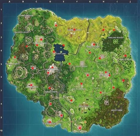 fortnite vending machine fortnite all vending machine locations metabomb