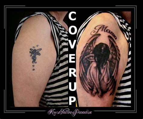 Tattoo Cover Up Elf | engel tattoo deze pictures to pin on pinterest tattooskid
